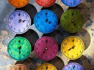 обои Multi Colored Watches фото
