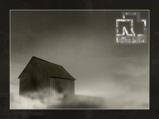 обои Сарай в тумане Rammstein фото