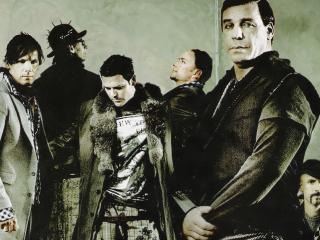 обои Немецкая металл-группа Rammstein из ГДР фото