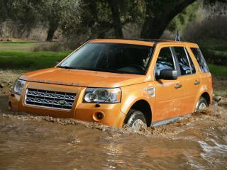 обои Land Rover Freelander 2 фото