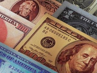 обои Мировые деньги фото