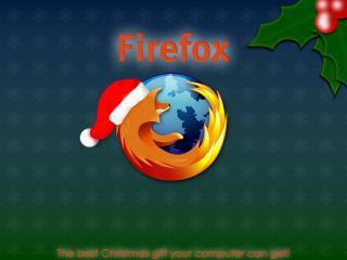 обои Mozilla firefox с новым годом фото