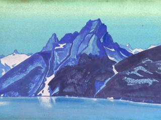 обои Рерих Озеро Нагов. Кашмир фото