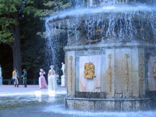 обои Rimsky Fountains Peterhof фото