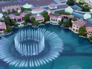 обои United States Nevada Las Vegas Bellagio Fountain фото