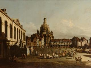 обои Bellotto, Bernardo - Neumarkt in Dresden фото