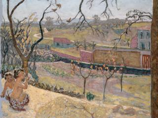 обои Bonnard, Pierre - Early Spring. Little Fauns фото