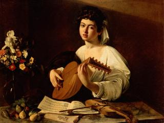 обои Caravaggio, Michelangelo Merisi da - The Lute-Player фото