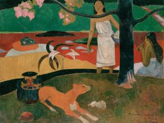 обои Gauguin, Paul - Pastorales Tahitiennes фото