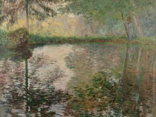 обои Pond at Montgeron фото