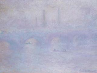 обои Waterloo Bridge. Effect of Fog фото