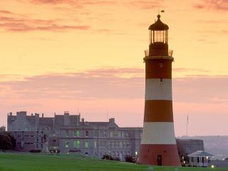 обои Smeaton s Tower, Plymouth, England фото