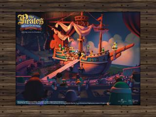 обои Приключения пиратов в стране овощей 2 фото