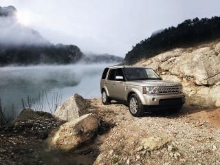 обои для рабочего стола: Land Rover Discovery 3