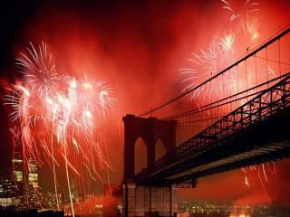 обои Brooklyn Bridge, New York фото
