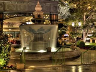 обои Красивый фонтан фото