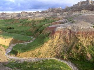 обои Badlands National Park, South Dakota фото