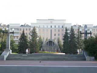 обои Челябинск-памятник Ленину фото