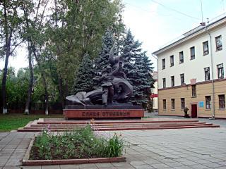обои Челябинск-памятник пожарным фото