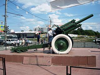 обои Челябинск-памятник рабочим производящим боеприпасы фото