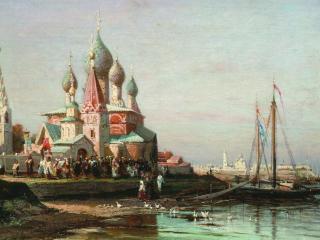 обои Крестный ход в Ярославле фото