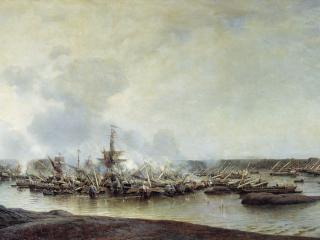обои Сражение при Гангуте 27 июля 1714 года фото