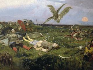 обои После побоища Игоря Святославича с половцами фото