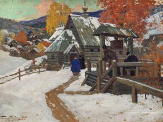 обои Иван ГОРЮШКИН-СОРОКОПУДОВ  Скит. 1912 фото