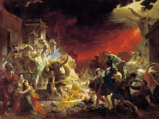 обои Карл БРЮЛЛОВ  Последний день Помпеи. 1833 фото