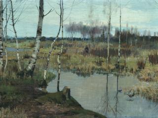 обои Ричард БЕРГГОЛЬЦ  Весенний пейзаж фото