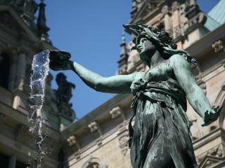 обои Фонтан-статуя в Германии фото