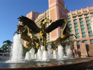 обои Крылатый фонтан фото