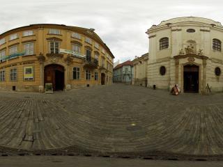 обои Улица старого города фото