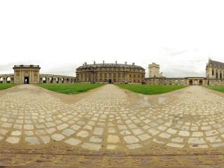 обои Шикарный дворец панорамма фото