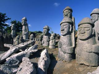 обои Корея. Древние статуи фото
