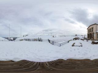 обои Научная станция в Арктике фото