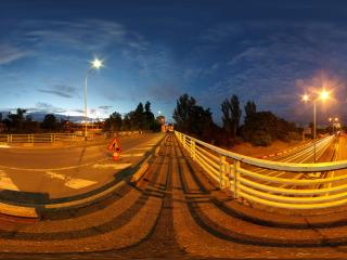 обои Дороги в ночной час фото