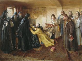 обои Клавдий ЛЕБЕДЕВ (1852-1916). Царь Иван Грозный фото