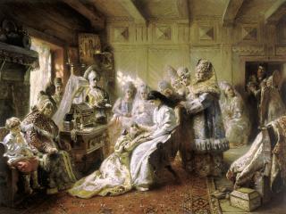 обои Константин МАКОВСКИЙ (1839-1915). Под венец фото