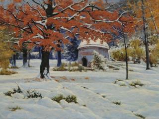 обои Константин КРЫЖИЦКИЙ  Ранний снег фото