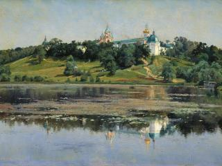 обои Константин КРЫЖИЦКИЙ (1858 — 1911). Звенигород фото