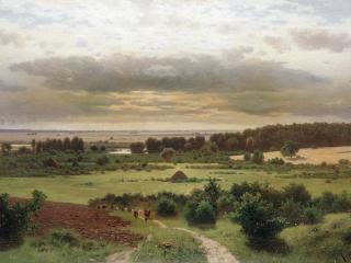 обои Константин КРЫЖИЦКИЙ (1858 — 1911). Лесные дали фото