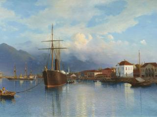 обои Лев ЛАГОРИО (1827-1905). Батум. 1881 фото