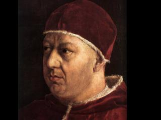обои Портрет папы Льва Х фото