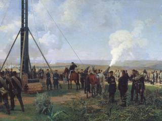 обои Николай ДМИТРИЕВ-ОРЕНБУРГСКИЙ  Артиллерийский бой под Плевной фото