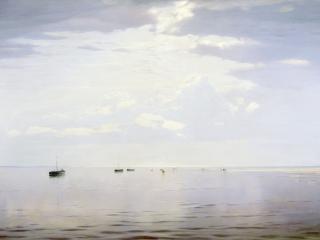 обои Николай ДУБОВСКОЙ (1859-1918). На Волге фото