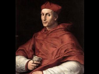 обои Рафаэль - Портрет кардинала фото