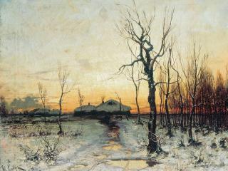 обои Юлий КЛЕВЕР  Зима. 1876 фото