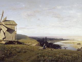 обои Владимир ОРЛОВСКИЙ  Украинский пейзаж фото