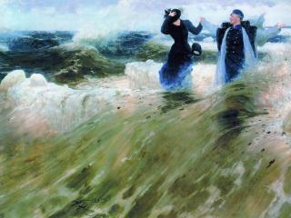 обои Илья РЕПИН (1844-1930). Какой простор фото